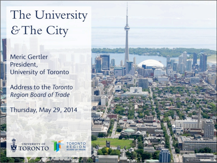 Gertler Board of Trade speech May 2014 Header Image